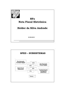 NFe Nota Fiscal Eletrônica Helder da Silva Andrade - CRC-CE