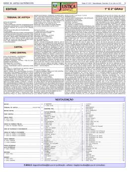 USTIÇA - Medeiros & Medeiros Administração Judicial