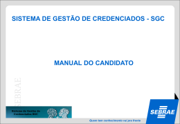 Manual do Candidato SGC_AM