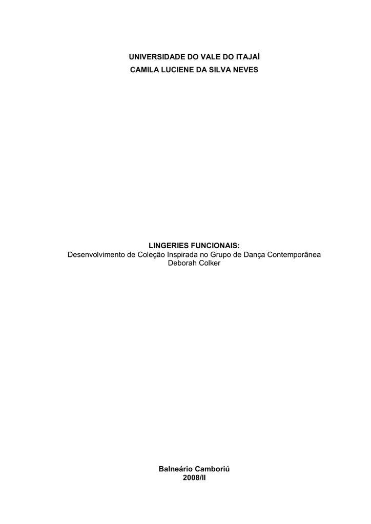 487fd1069 Trabalho de Conclusão de Curso - Camila 1