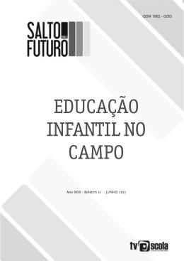 EDUCAÇÃO INFANTIL NO CAMPO - Base Integradora da TV Escola