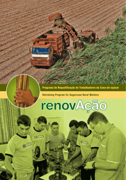 Retraining Program for Sugarcane Rural Workers Programa de