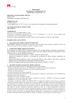 1 PROLEUKIN® Interleucina-2 recombinante (IL-2r