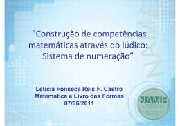 Números e Sistema de numeração