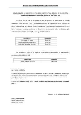 Jéderson da Silva Gabriela Wessling Oening Profa