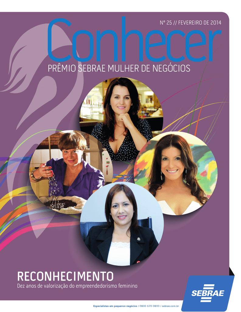 7a31a504c da revista - Prêmio Sebrae Mulher de Negócios