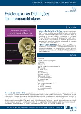 Fisioterapia nas Disfunções Temporomandibulares