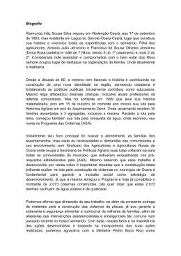 Biografia Raimunda Inêz Sousa Silva nesceu em