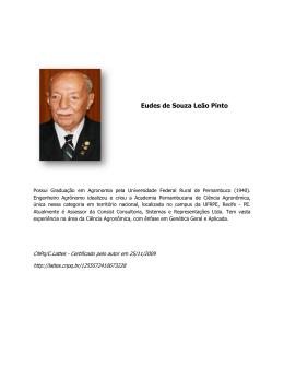 Eudes de Souza Leão Pinto uza Leão Pinto