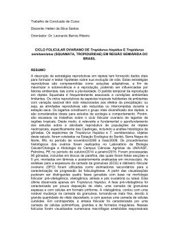 Trabalho de Conclusão de Curso Discente: Hellen da Silva Santos