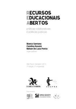 RECURSOS EDUCACIONAIS ABERTOS - REA (artigos)