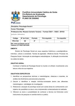Pontifícia Universidade Católica de Goiás Pró
