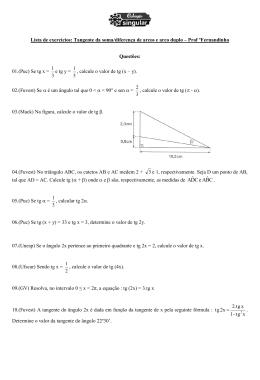Lista Trigonometria