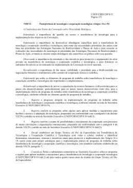Artigos 16 a 19 - Ministério do Meio Ambiente