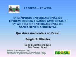 Drª Sérgia de Souza Oliveira