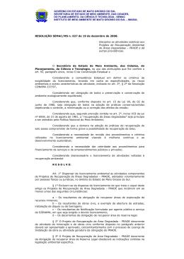 Resolução SEMAC 27-2008 - Bíon Consultoria Ambiental