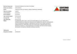 Nome do Convenente: SOCIEDADE MINEIRA DE CULTURA E PUC