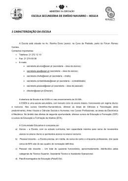 (2- Introdução - Extrato de RI) - Agrupamento Escolas Emídio Navarro