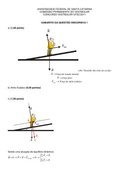 Gabarito - Coperve – Comissão Permanente do Vestibular