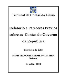 Exercício de 2003