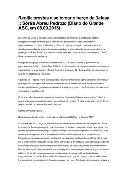 1.9 Entrevista Diario Do Grande Abc Defesa
