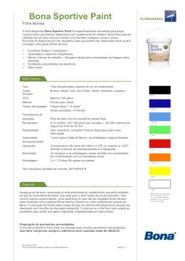 Ficha de Aplicação y Descrição do Produto