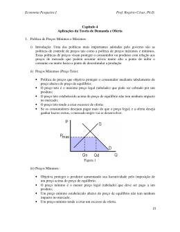 Economia Pesqueira I Prof. Rogério César, Ph.D. 15