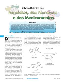 Sobre a Química dos Remédios, dos Fármacos e dos