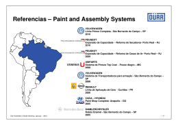 Referencias – Paint and Assembly Systems