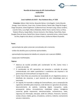 Ata 6ª Reunião de governança 13/02/2014