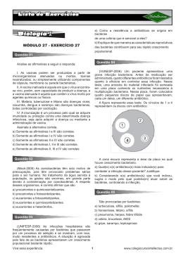 Biologia I (MOD 27)