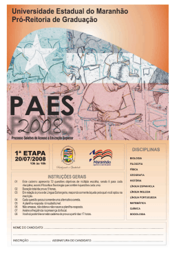 PAES 2008