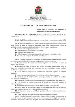 1081 Lei Forrageiras