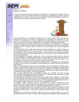 Capítulo 19 – Resumo A nova economia dita novas regras, e