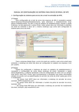 1 Consisa Informática Ltda. Manual prático do suporte técnico