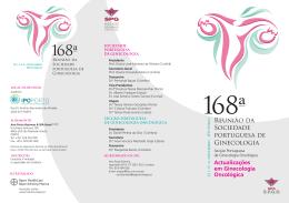 Reunião da Sociedade portuguesa de Ginecologia