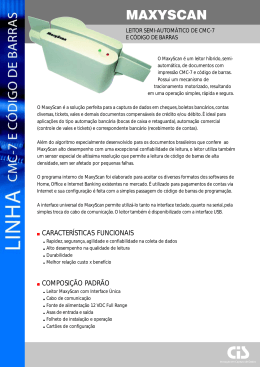 MAXYSCAN - ScanSource CDC Brasil
