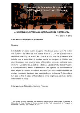 A NUMEROLOGIA: PITÁGORAS - Nead