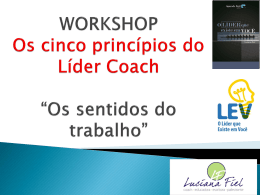 Os cinco princípios do líder coach - ABRH-ES