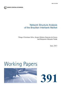 Network Structure Analysis of the Brazilian Interbank Market