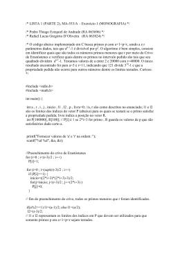 /* LISTA 1 (PARTE 2), MA-553/A – Exercício 1 (MONOGRAFIA