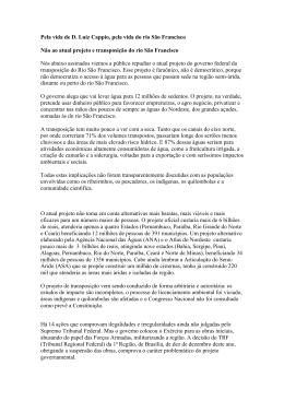 Leonardo Boff - MANIFESTO - Movimento Humanos Direitos