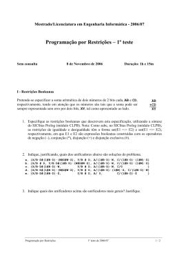 Mestrado/Licenciatura em Engenharia Informtica - 2006/07