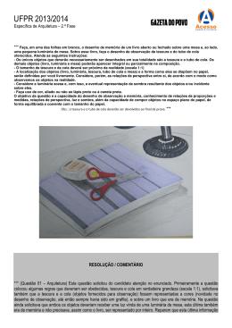UFPR 2013/2014 - Gazeta do Povo
