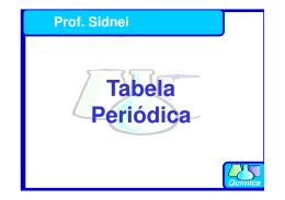 Tabela Tabela Periódica - Curso e Colégio Acesso