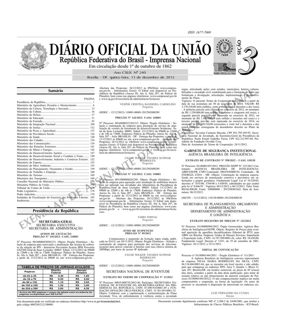 14a23142182 exemplar de assinante da imprensa nacional
