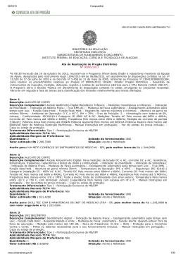 30/10/13 ComprasNet www.comprasnet.gov.br 1/33 MINISTÉRIO