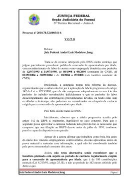201070520003416 - Justiça Federal do Paraná