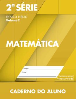 Matematica_EM 2ª série-Vol 2-aluno
