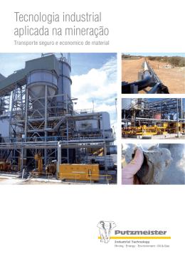 Tecnologia industrial aplicada na mineração